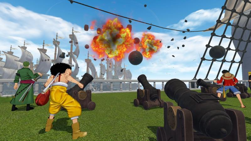 One Piece: Grand Cruise - Fight (Foto: Bandai Namco)