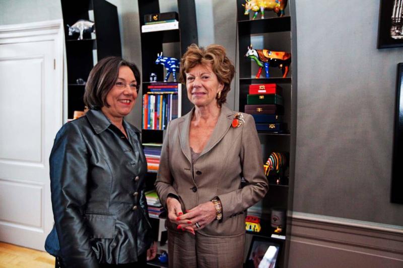 'Tijd voor vrouwelijke minister van staat'
