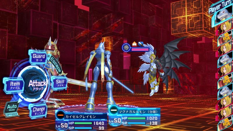 Digimon Story: Cyber Sleuth - Hacker's Memory - Battle (Foto: Bandai Namco)