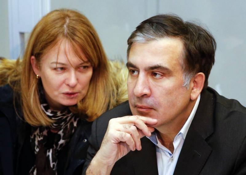 Oud-president Saakasjvili wil naar Nederland