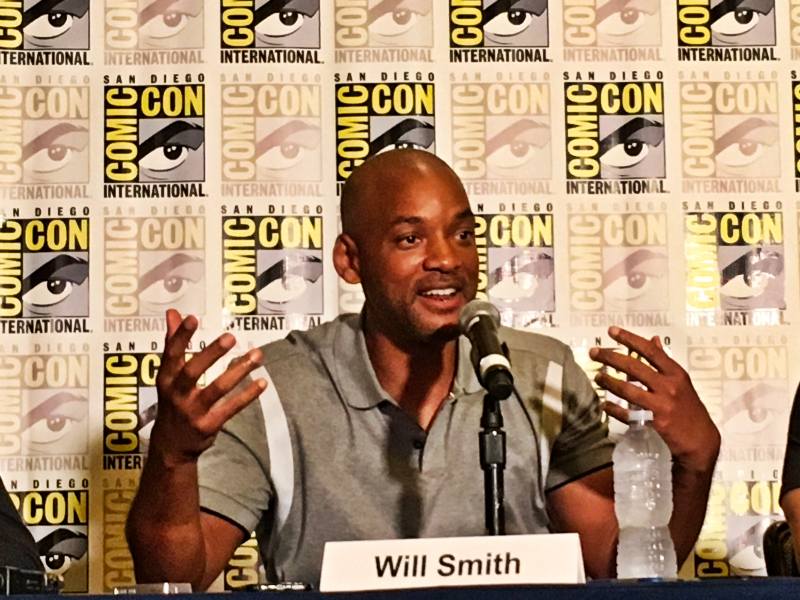 Bright: Will Smith tijdens SDCC persconferentie