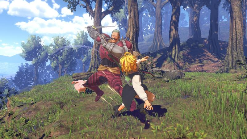 The Seven Deadly Sins: Knights of Britannia - Battle (Foto: Bandai Namco)