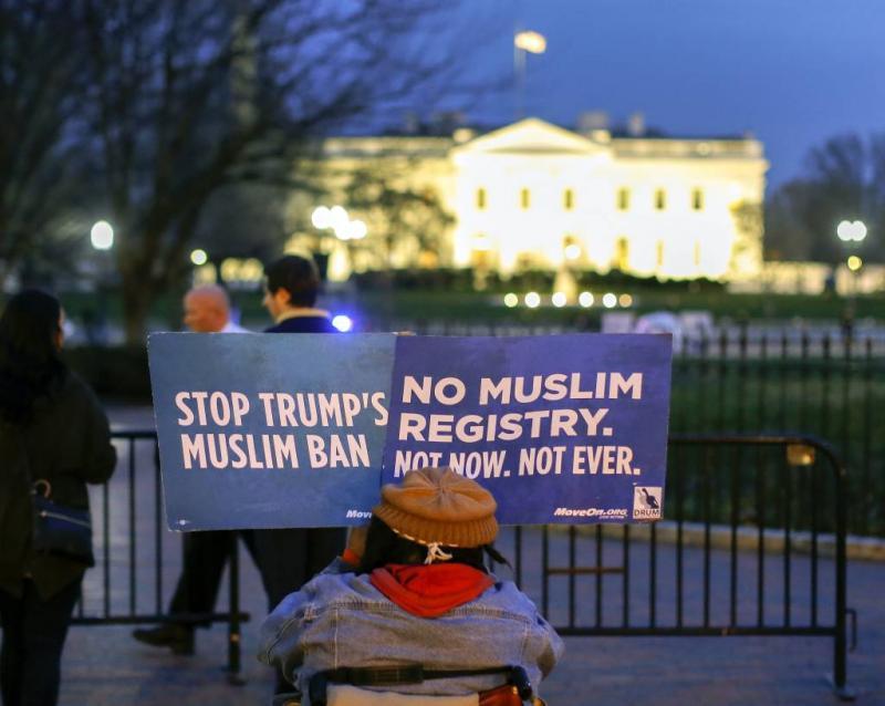 Inreisverbod Trump toch weer onder druk