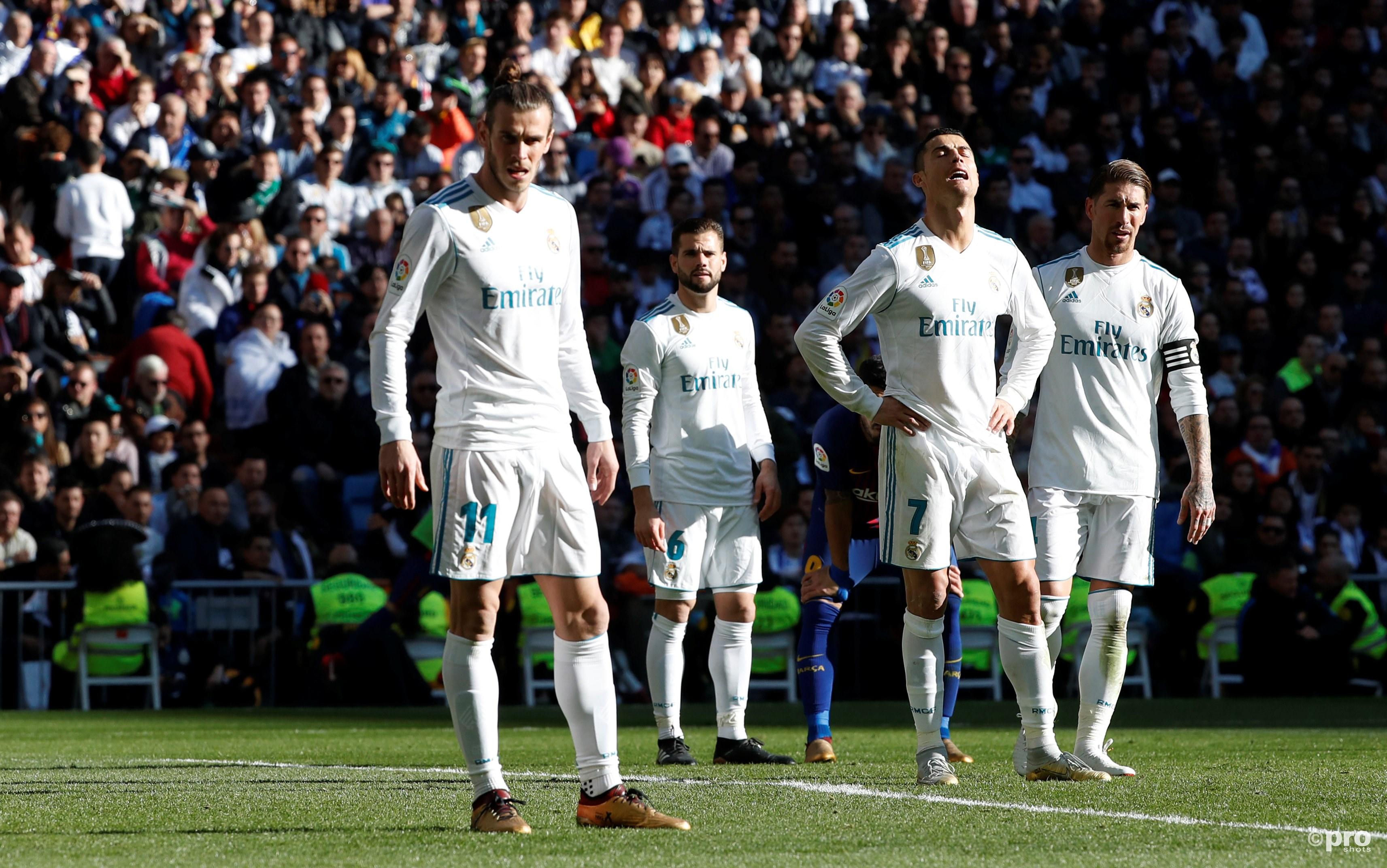 Madrid kijkt tegen een achterstand aan van veertien punten. (PRO SHOTS/Action Images)