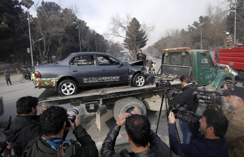 IS pleegt aanslag op inlichtingendienst Kabul