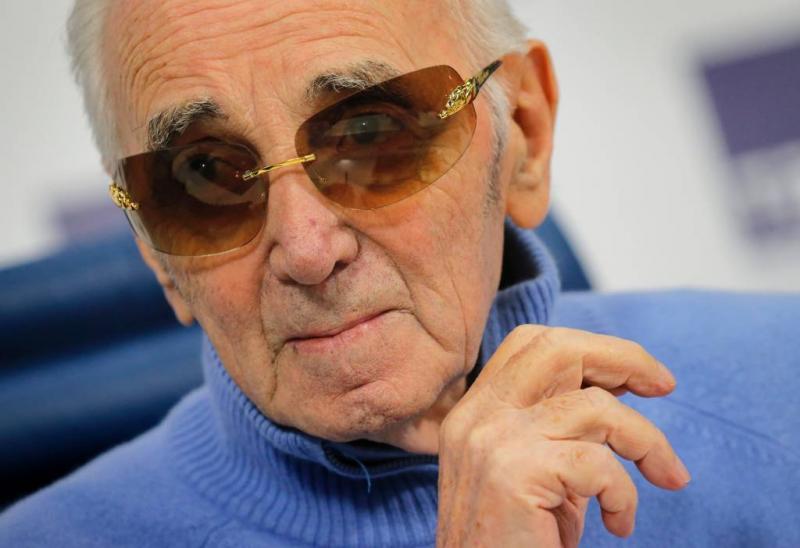 Aznavour (93) komt in 2018 tijd tekort