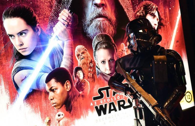 Star Wars 8 en Jumani domineren bioscopen