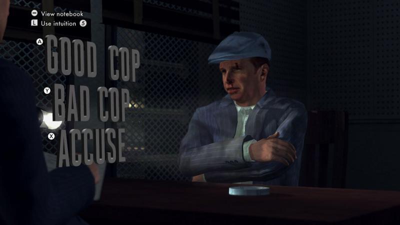 L.A. Noire interrogation