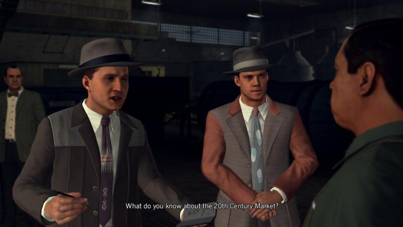 L.A. Noire conversation