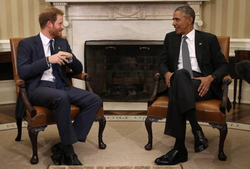 Invitatie Obama's voor bruiloft Harry ongewis
