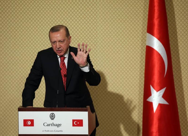 Erdogan haalt uit naar 'terrorist' Assad