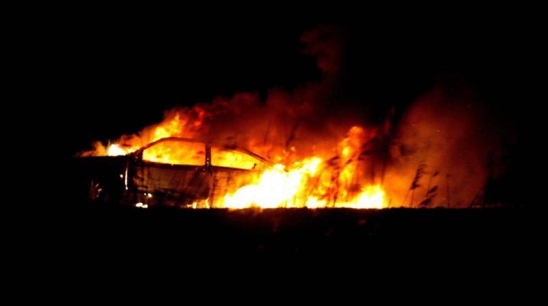 Negen voertuigen in brand gestoken in Utrecht