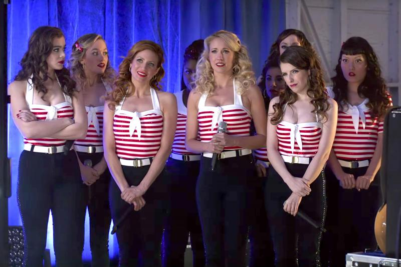 Pitch Perfect 3 optreden USO