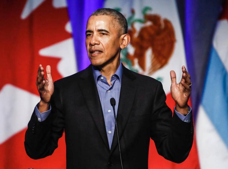 Obama: alles lijkt simpeler op internet