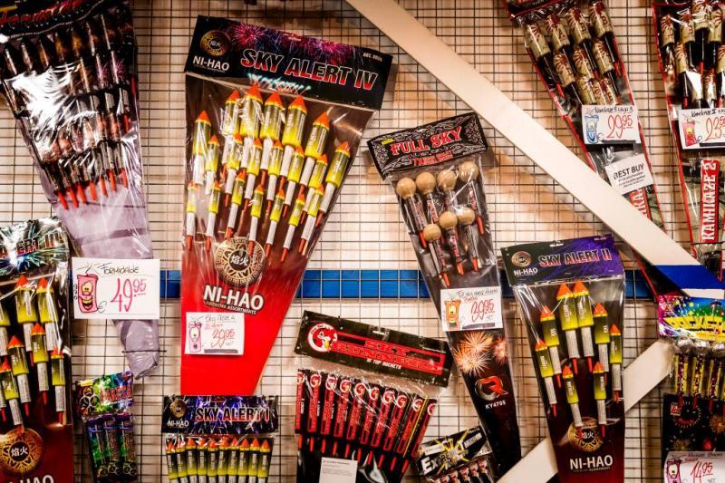 Vuurwerkbranche tevreden over verkoop