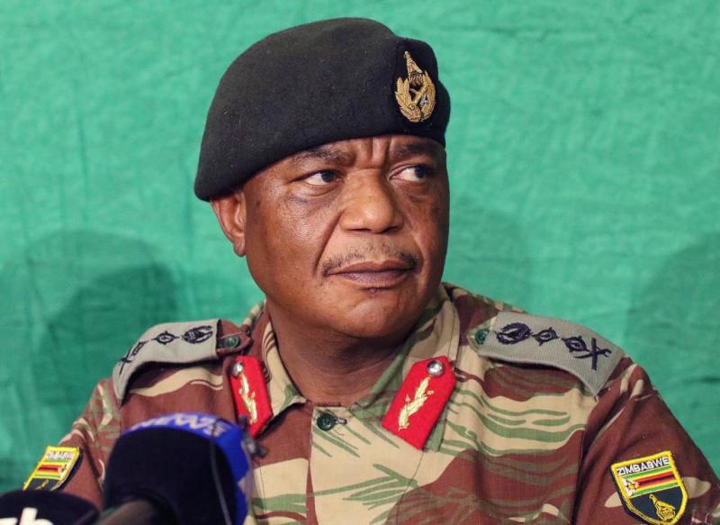 Aanvoerder 'coup' Zimbabwe nu vicepresident
