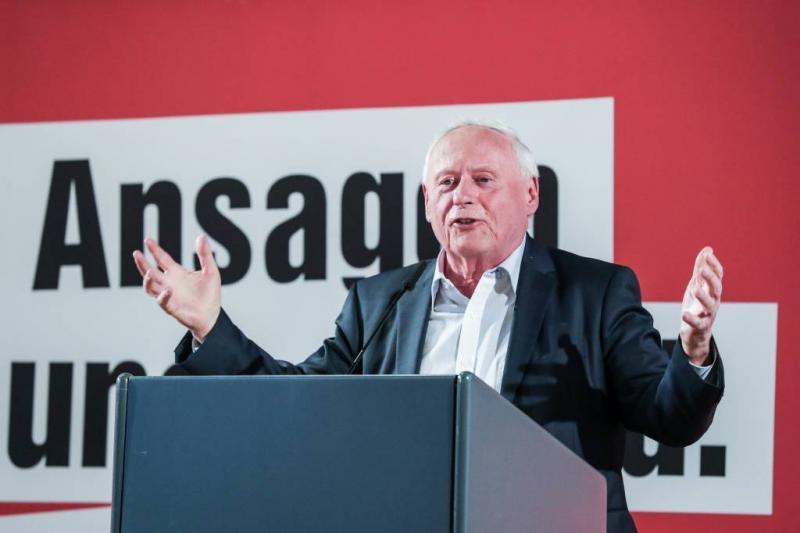 Lafontaine wil nieuwe linkse volkspartij