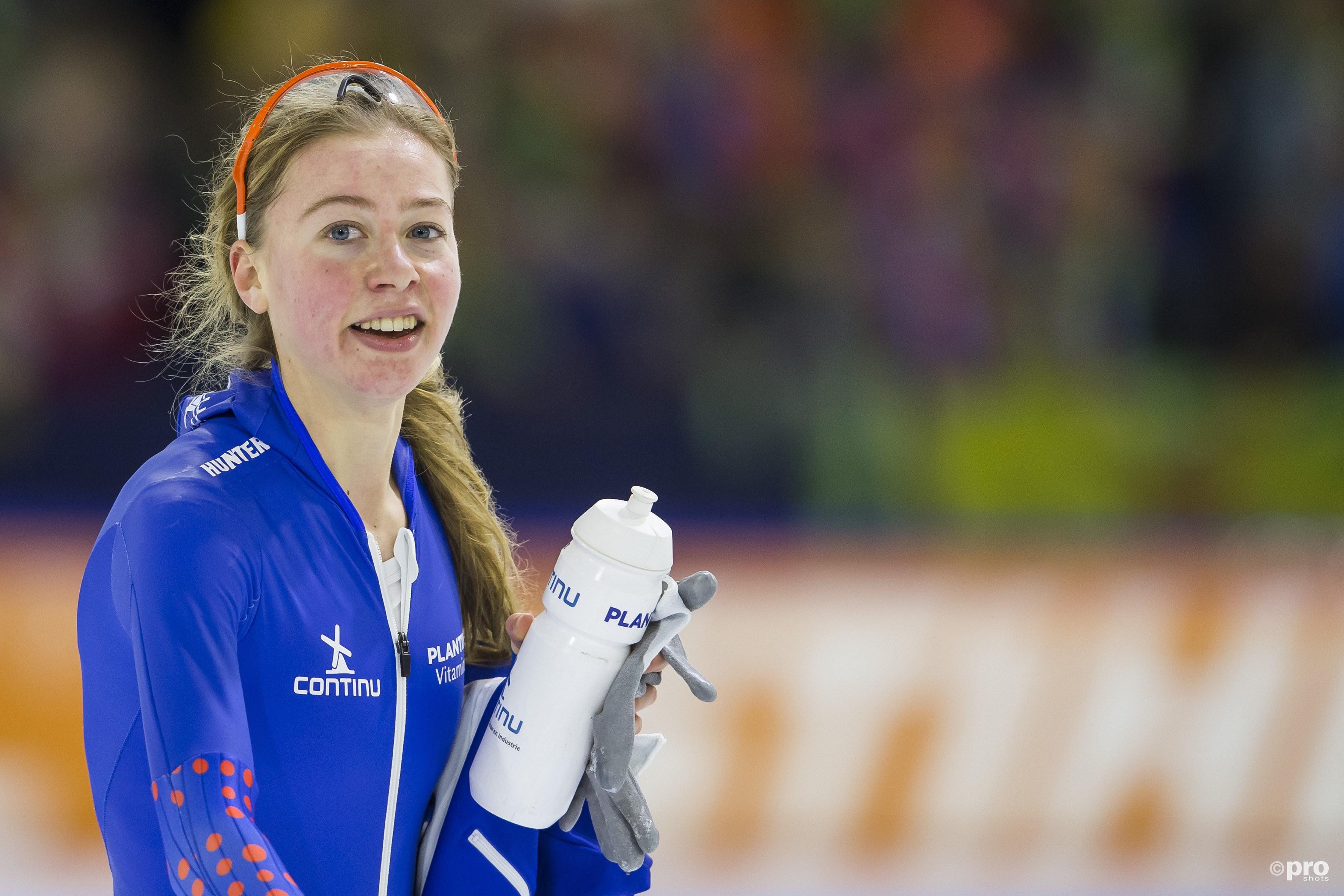 Esmee Visser met plek twee naar de Spelen. (PRO SHOTS/Erik Pasman)