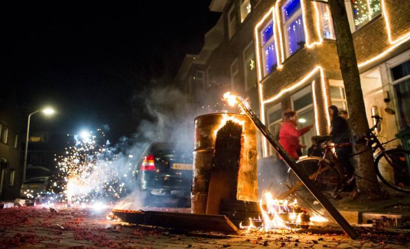 Vuurwerkshow Laak in Den Haag afgelast