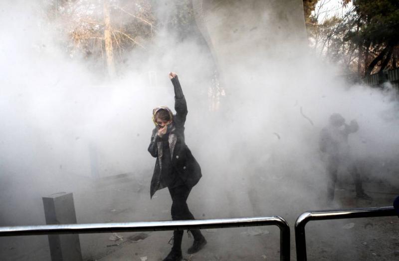 'Geen demonstranten gedood door politie Iran'