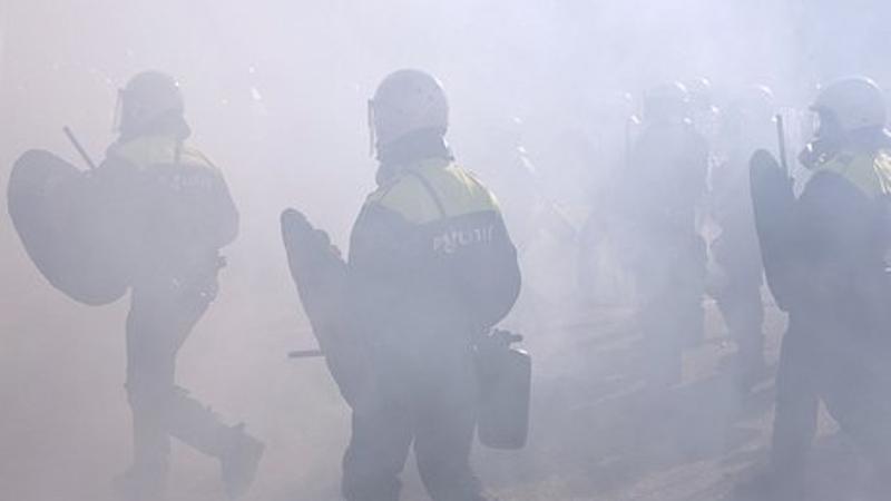 ME ingezet bij vechtpartij Utrecht (Foto: Stockfoto politie.nl)