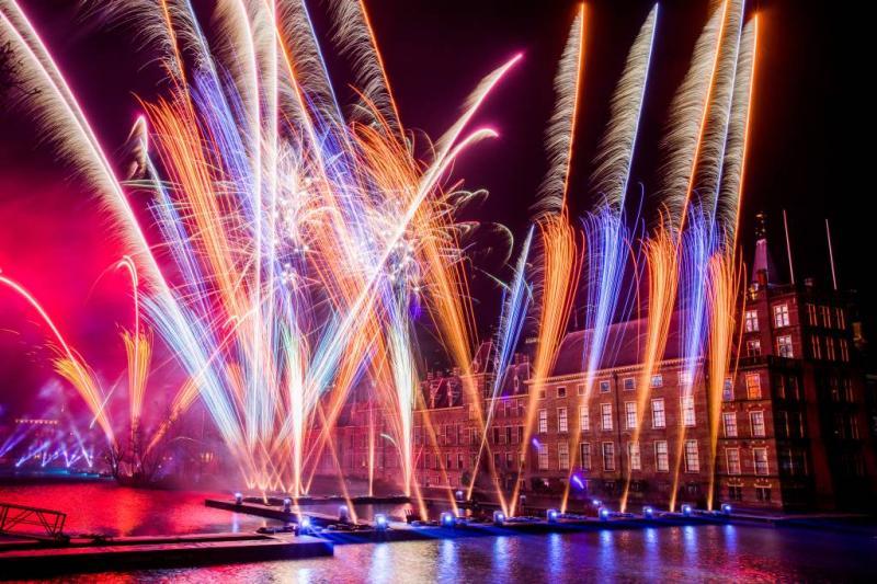 'Gemoedelijke sfeer rond vuurwerkshows'