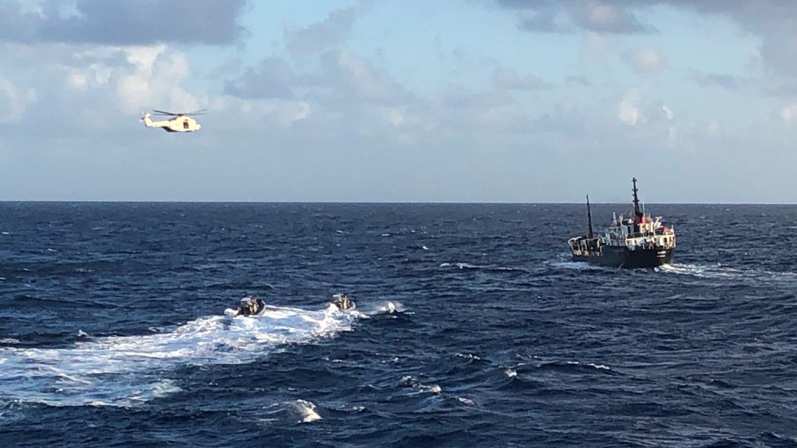 Onderschepping (Foto: Ministerie van Defensie)