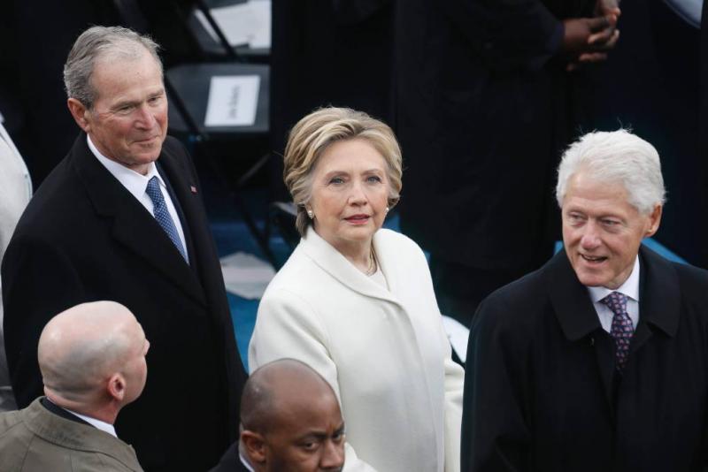 Brandje in het huis van de Clintons
