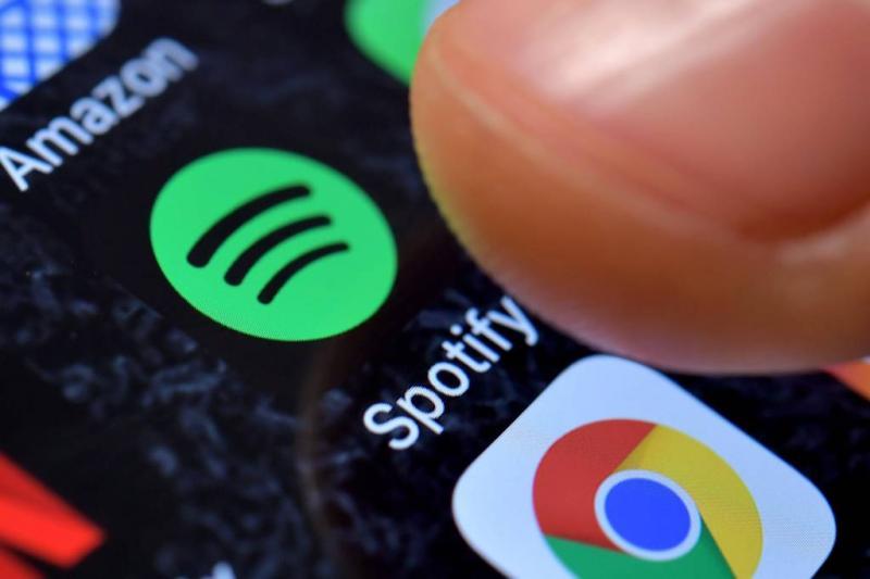 'Spotify doet aanvraag voor beursgang'