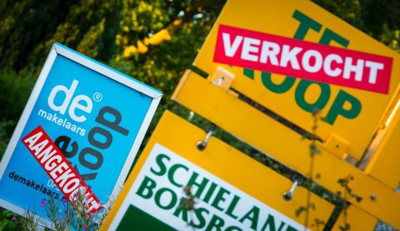 'Vertrouwen in woningmarkt iets omlaag'