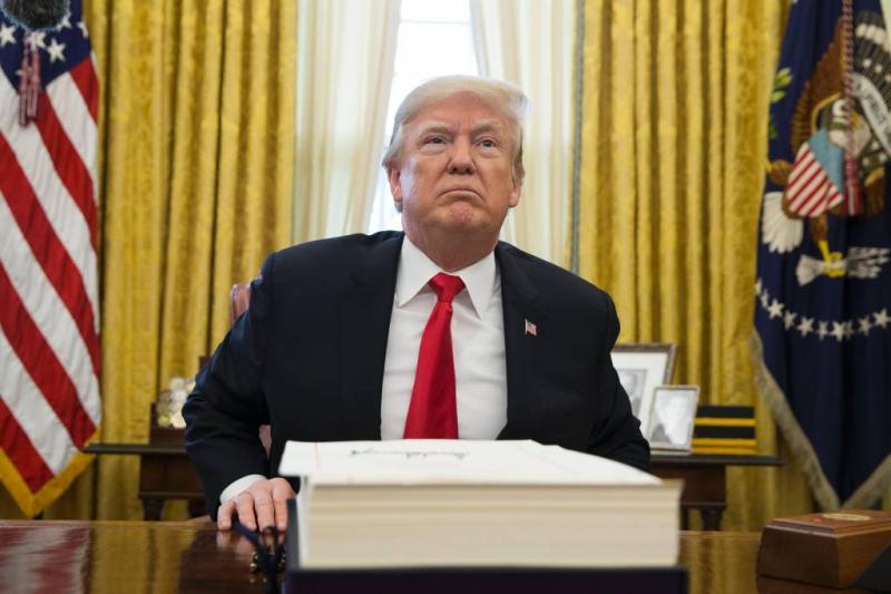Trumps advocaten willen publicatie stoppen