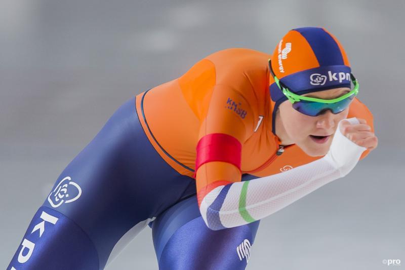 Van Beek Europees kampioene 1.500m (Pro Shots / Erik Pasman)