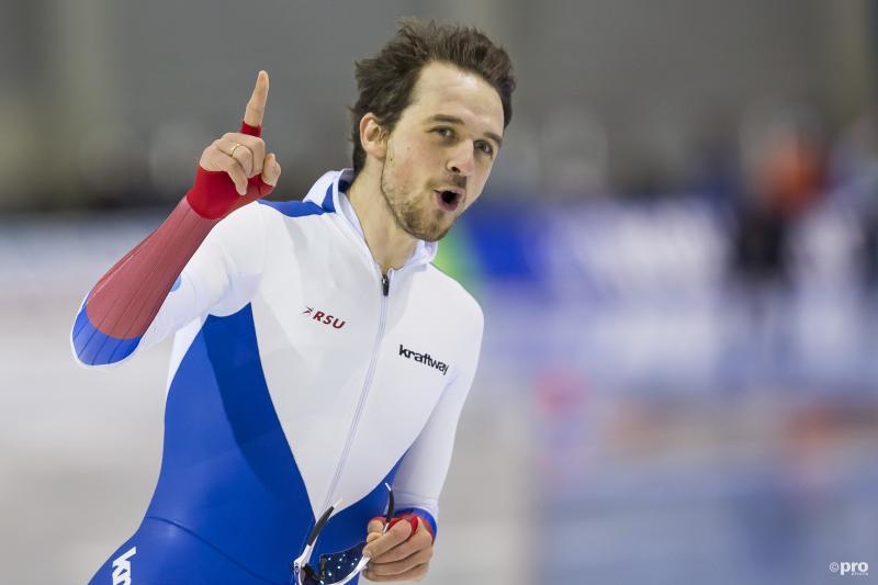 Yuskov Europees kampioen 1.500m, zilver en brons Krol en Verweij (Pro Shots / Erik Pasman)