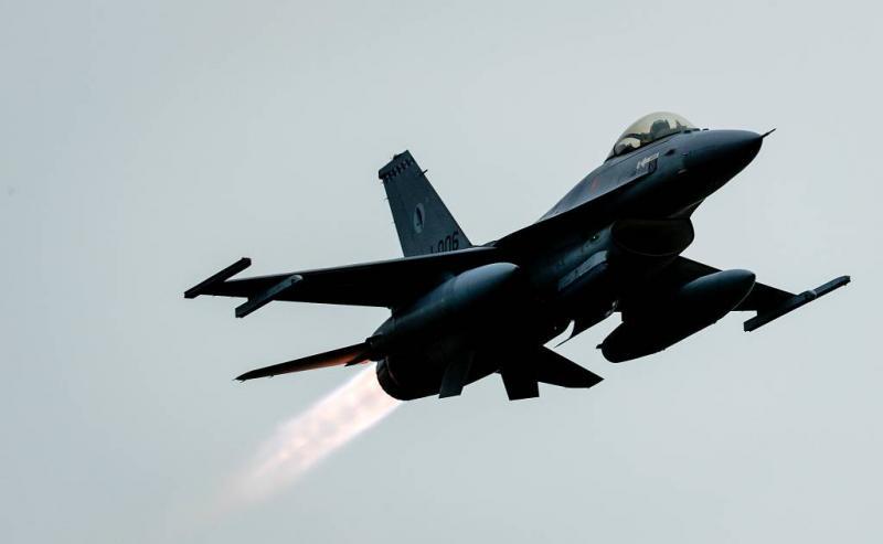 F-16's weer boven Irak en Oost-Syrië