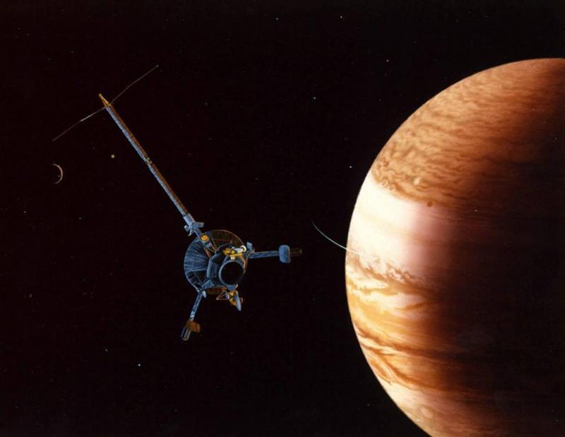 Bijzondere samenstand Jupiter en Mars