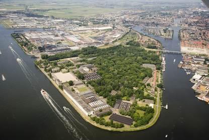 Hembrugterrein Zaandam levert 41 miljoen op (Foto: Rijksvastgoedbedrijf )