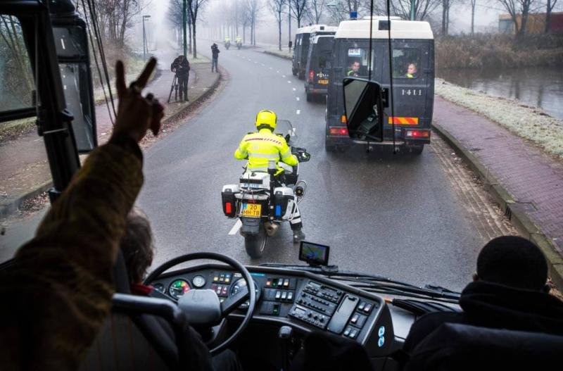 Snelwegblokkeerders intocht Sint opgeroepen