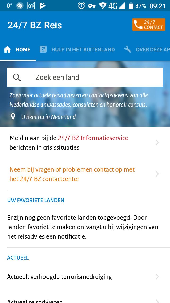 Nederlanders vaak onvoorbereid op reis (Foto: Eigen screenshot )