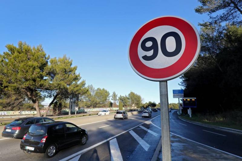 Frankrijk verlaagt maximumsnelheid