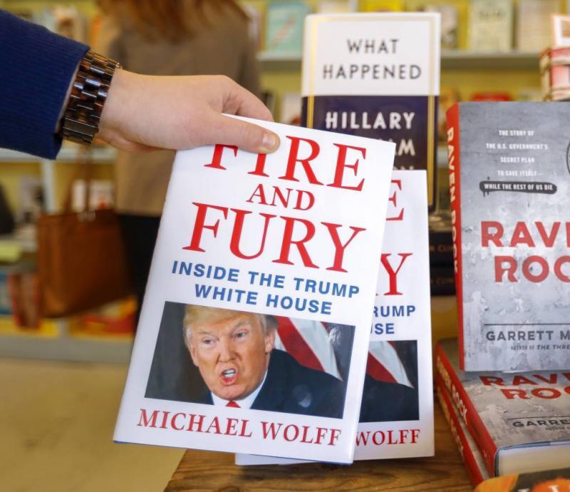 Fire and Fury vliegt de winkels uit