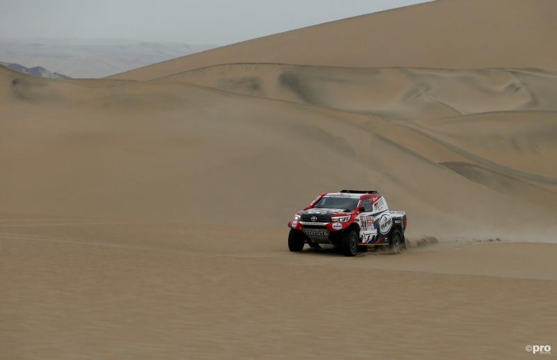 Goede dag Ten Brinke in Dakar Rally (Pro Shots/Action Images)