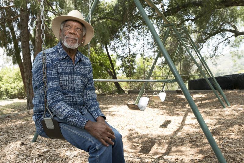 Morgan Freeman op zoek naar menselijkheid (Foto: National Geographic)