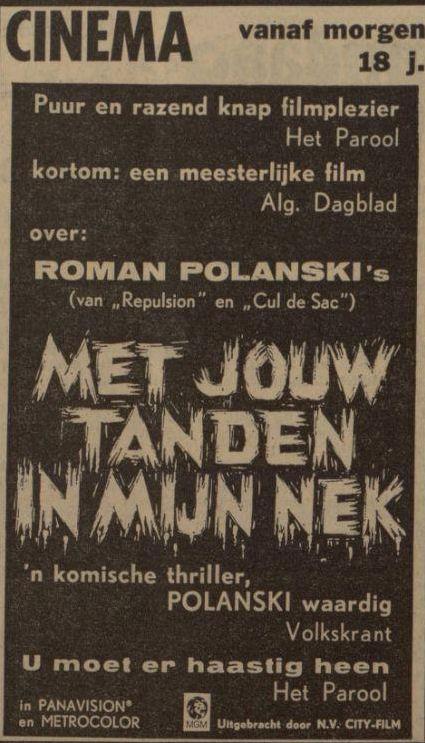 Uit de Leeuwarder Courant van 10 januari 1968