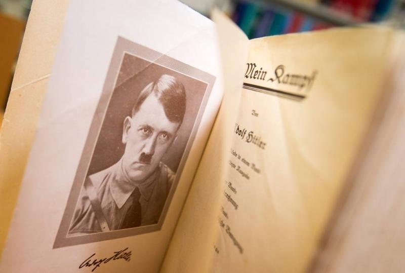 Een Duits boek? Eh..... Mein Kampf!