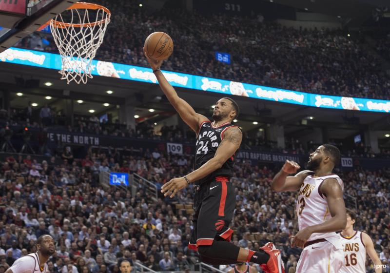 NBA: Raptors veel te sterk voor Cavaliers in topper (Pro Shots / Action Images)