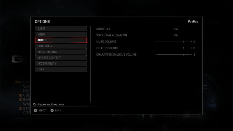 Gears of War 4 - Atmos
