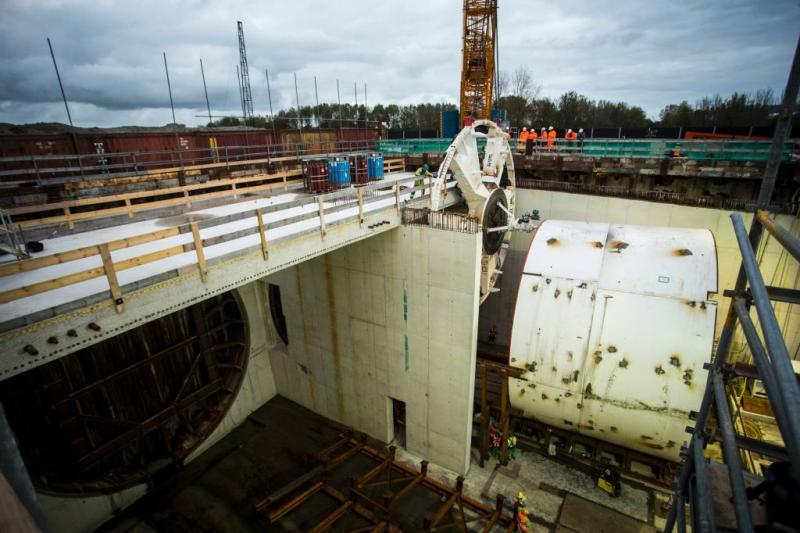 Boren van Haagse tunnel begint