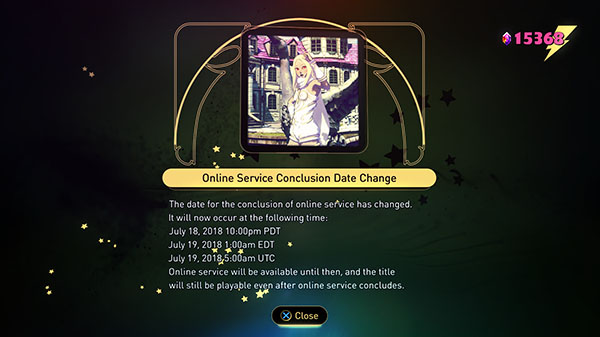 Gravity Rush 2 server-melding