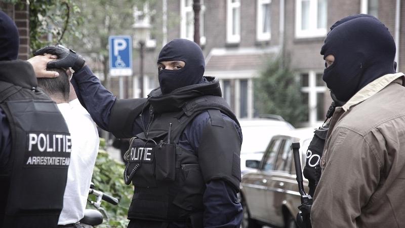 Arrestatieteam ingezet om woning te ontruimen (Foto: stockfoto politie.nl)