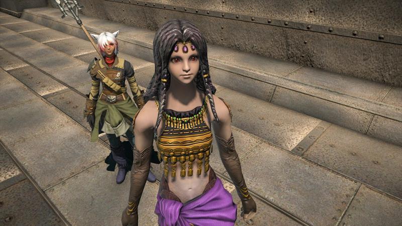 Final Fantasy XIV: Stormblood - Patch 4.2 - Vira Beast Tribe (Foto: Square Enix)